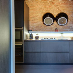 Kitchen | Fusion Basalt Grey | Ceramic panels | Neolith