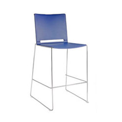 Alfa Indoor Stacking Counter Stool | Taburetes de bar | Aceray