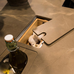 Kitchen | Classtone Pulpis | Ceramic slabs | Neolith