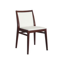 Mira Indoor Stacking Side Chair | Chaises de restaurant | Aceray