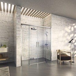 Bella Vita 3 - Sliding door in niche, 4-panelled | Shower screens | Duscholux AG