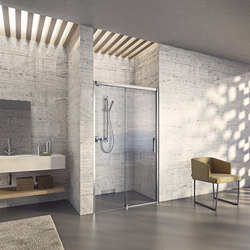 Bella Vita 3 - Sliding door in niche, 2-panelled | Shower screens | Duscholux AG