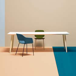 Babila table | Meeting room tables | PEDRALI