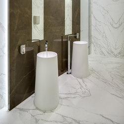 Bath | Classtone Pulpis & Calacatta | Baldosas de suelo | Neolith