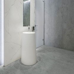 Bath | Classtone Estatuario & Fusion Beton | Ceramic tiles | Neolith