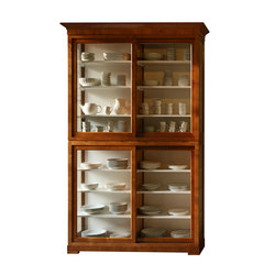 Biedermeier Modular Bookcase | Vitrinas | Morelato