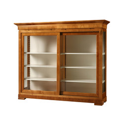 Biedermeier Showcase | Library shelving systems | Morelato