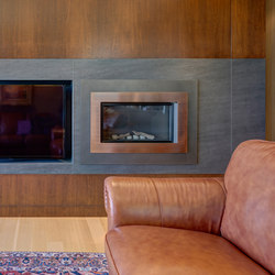 Interior | Fusion Basalt Grey | Fireplace accessories | Neolith