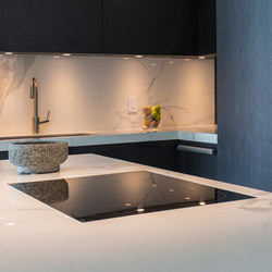 Kitchen | Classtone Estatuario | Carrelage mural | Neolith