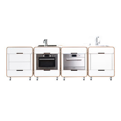 A la carte II modular kitchen | Compact kitchens | Stadtnomaden