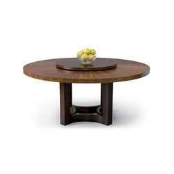 Nexus Round Table With Lazy Susan | Dining tables | Altura Furniture