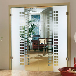 Frameless Glass Doors | Puertas de interior | Bartels Doors & Hardware
