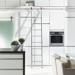 Modern Library Ladders | Library ladders | Bartels Doors & Hardware