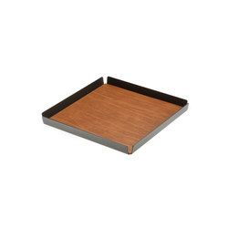 Tray Square S | anthracite | Tabletts | LINDDNA