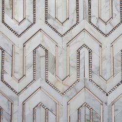 Allure rug | Mosaicos de piedra natural | AKDO