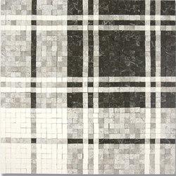 Balmoral Plaid Silver Stone Mosaic | Natural stone mosaics | AKDO