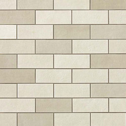Ewall Pure in Mini Brick | Ceramic mosaics | AKDO