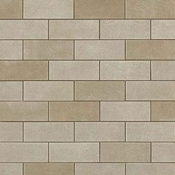 Ewall Suede Mini Brick | Ceramic mosaics | AKDO