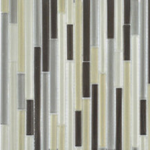 Heavy Rain in Glass Neutral Blend (Clear) | Mosaici vetro | AKDO