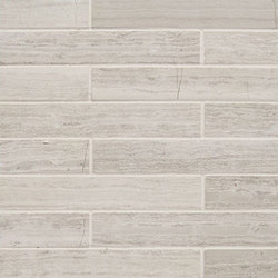 Modern Core Line - Cream Taupe 1x6 Brick | Natural stone mosaics | AKDO