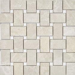 Niobe Beige Basket Weave Mosaic | Natural stone mosaics | AKDO