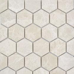 Niobe Beige Hexagon Mosaic | Natural stone mosaics | AKDO