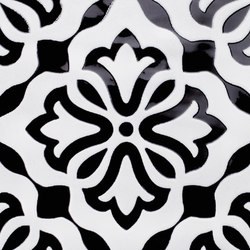 Origin Black Deco | Ceramic tiles | AKDO