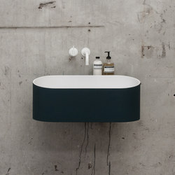 Fuse basin | Wash basins | Not Only White B.V.