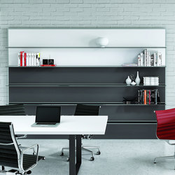 Archimede | Office shelving systems | ALEA