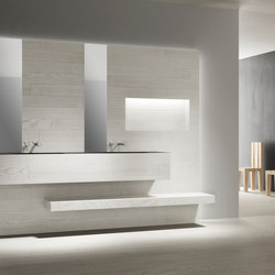 5 mm – the bathroom project | Composizione #14 | Wood panels / Wood fibre panels | Itlas