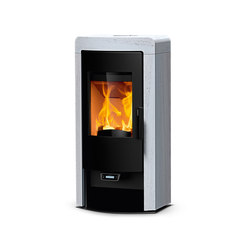 Nex | with white stone | Wood burning stoves | Rika