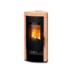 Sol | with sandstone | Wood burning stoves | Rika