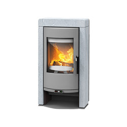 Fox II | with soapstone casing | Wood burning stoves | Rika