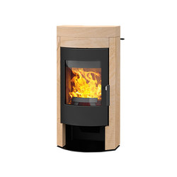 Imposa | with sandstone casing | Wood burning stoves | Rika