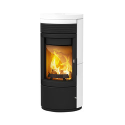 Twist | with steel casing and ceramic cover | Wood burning stoves | Rika
