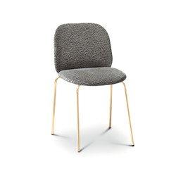 Corolle Padded Chair | Restaurant chairs | ARFLEX