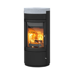 Twist | with steel casing and soapstone cover | Wood burning stoves | Rika