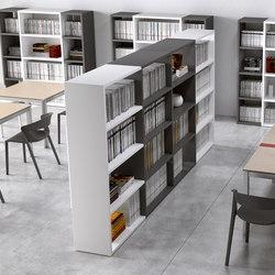 Zefiro .sys | Library shelving systems | ALEA