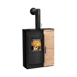 Induo | with steel casing, front sandstone | Sandstone stoves | Rika