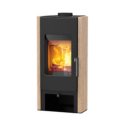 Tema | with sandstone casing | Wood burning stoves | Rika