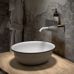 HC Lavabo Nickel Spazzolato | Wash-basin taps | Fima Carlo Frattini