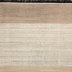 Tres Stripes Black | Tapis / Tapis design | Nanimarquina