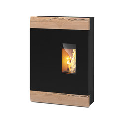 Roco | with sandstone casing | Pellet burning stoves | Rika