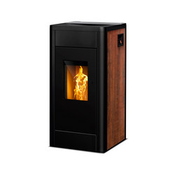 Filo | rust effect | Pellet burning stoves | Rika