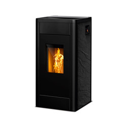 Filo | slate black | Pellet burning stoves | Rika