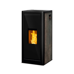 Sumo | rust effect metallic | Pellet burning stoves | Rika