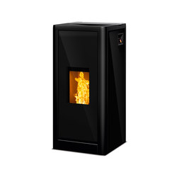 Sumo | glass black | Pellet burning stoves | Rika