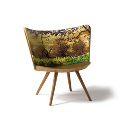 Embroidery Chair Atumn | Chaises | Cappellini