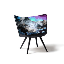 Embroidery Chair Winter | Chaises | Cappellini