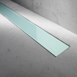 Modulo Basic Green Glass | Linear drains | Easy Drain